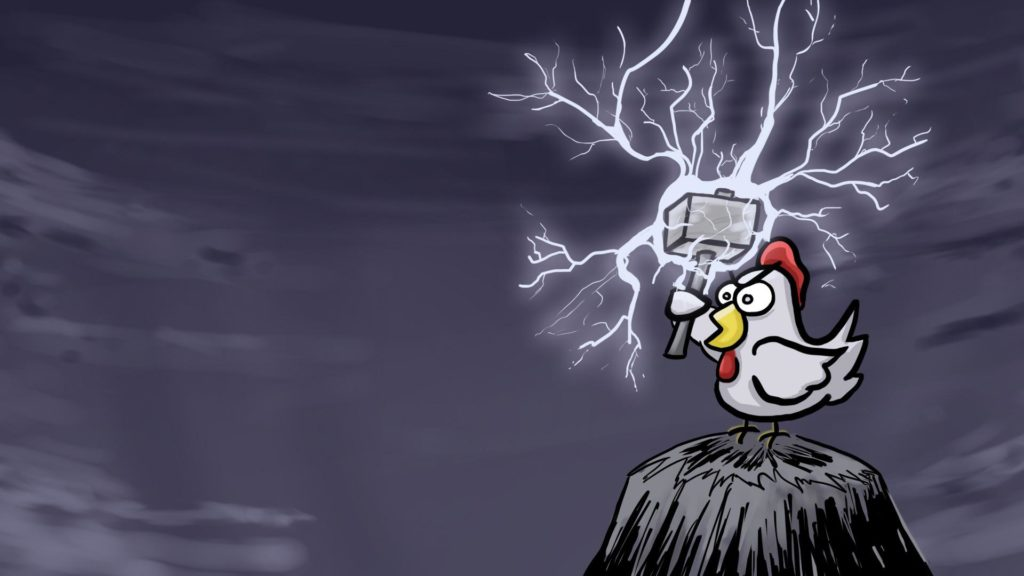 thor_chicken_art_lightning_hammer_chicken_digital-27525