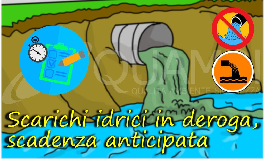 sacrichi in deroga _scadenza anticipata