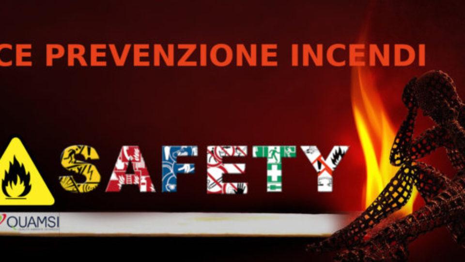 codice prevenzione incendi Qu.Am.Si.sas