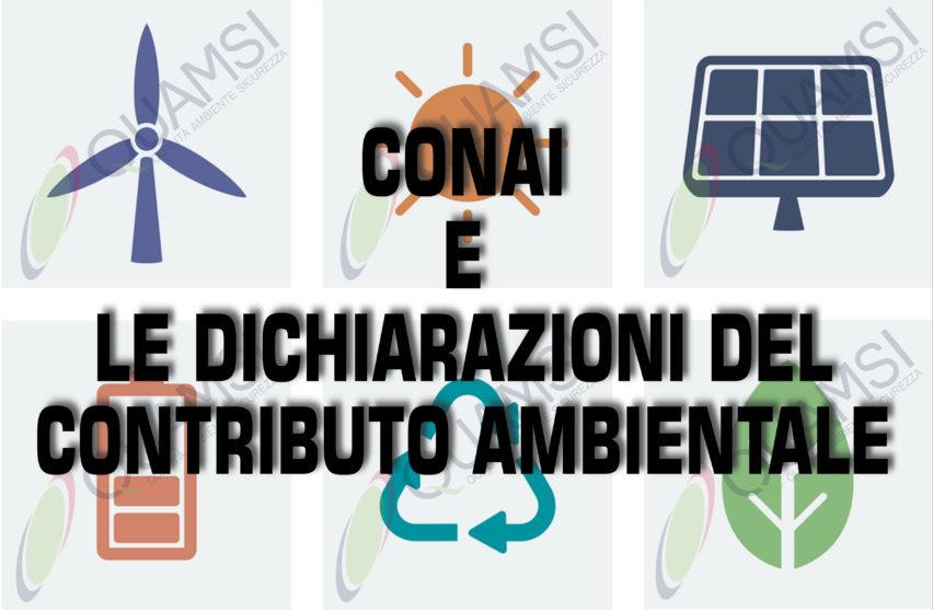 CONAI e le Dichiarazioni del Contributo ambientale-QUAMSI SAS